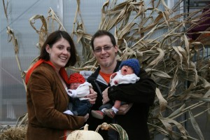 Look what we found in the pumpkin patch!